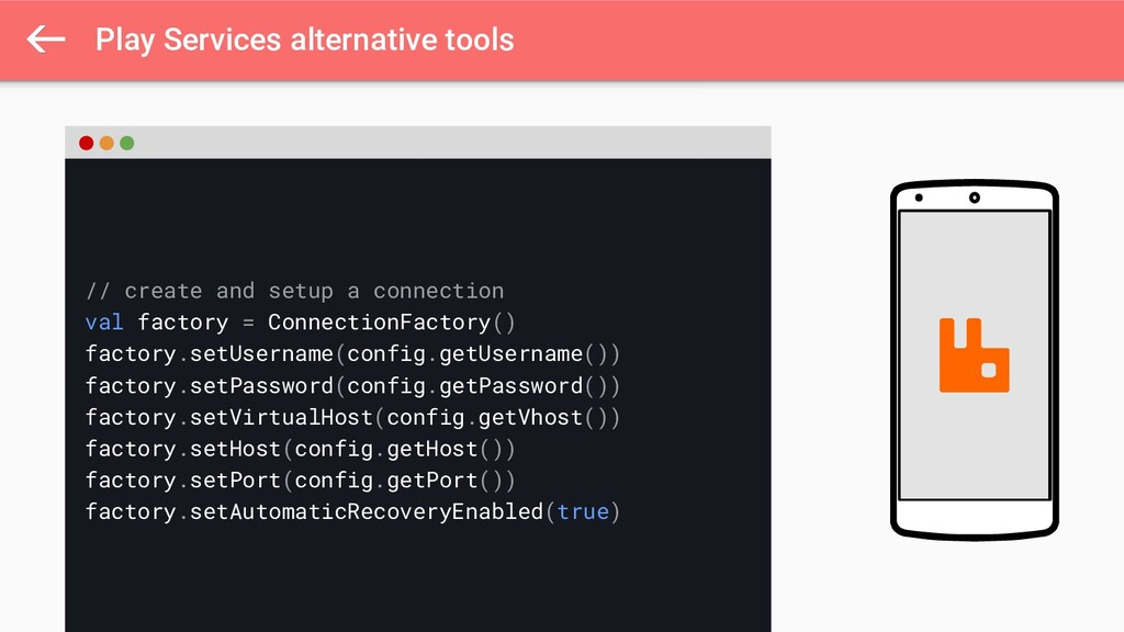 Play Services alternative tools // create and s...