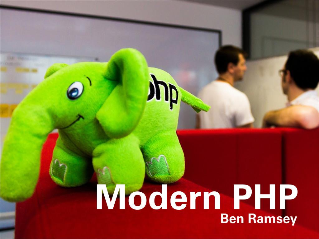 Modern PHP Ben Ramsey