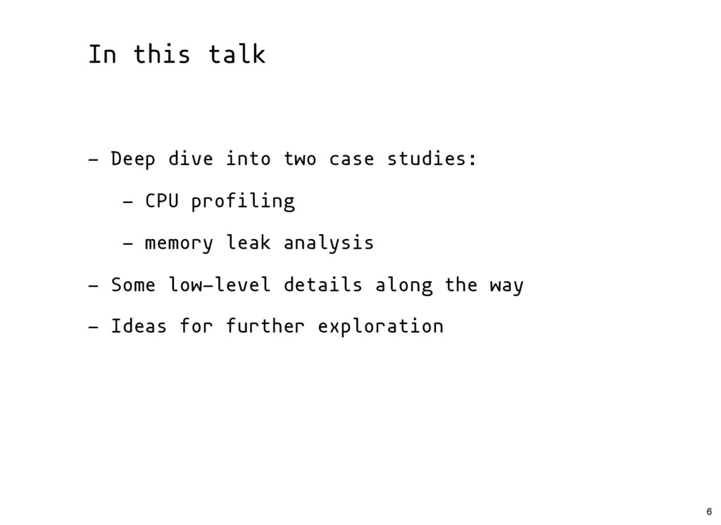 In this talk - Deep dive into two case studies:...