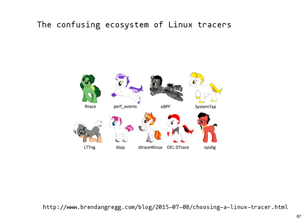 The confusing ecosystem of Linux tracers http:/...