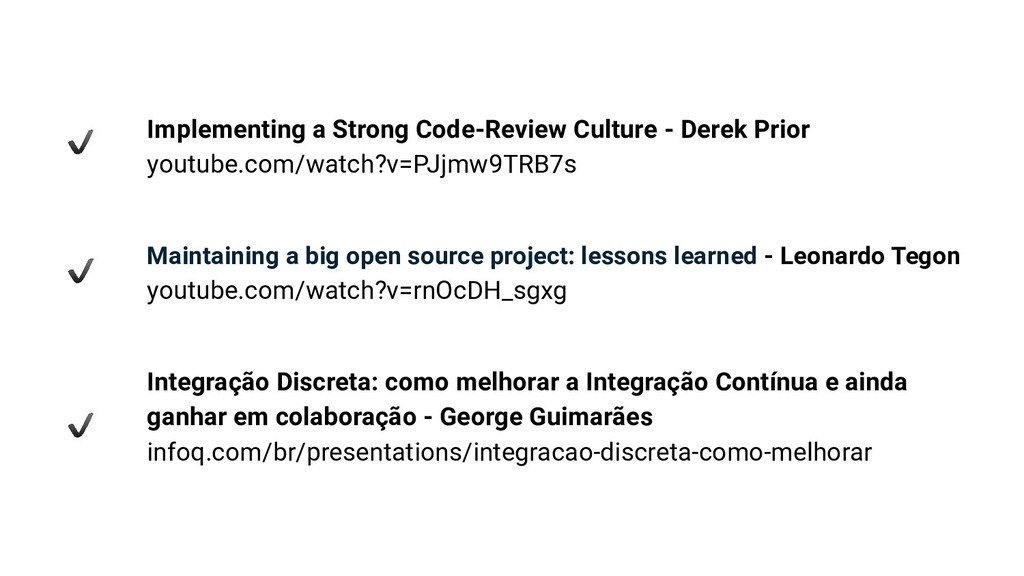 Implementing a Strong Code-Review Culture - Der...