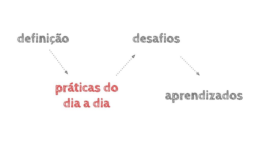 aprendizados definição práticas do dia a dia de...