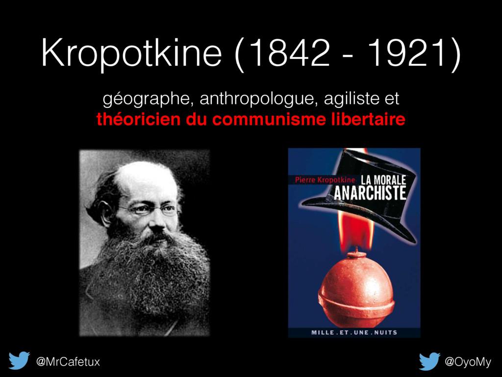 Kropotkine (1842 - 1921) géographe, anthropolog...