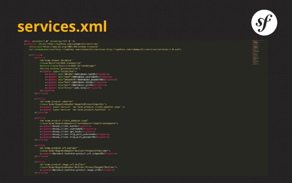 services.xml