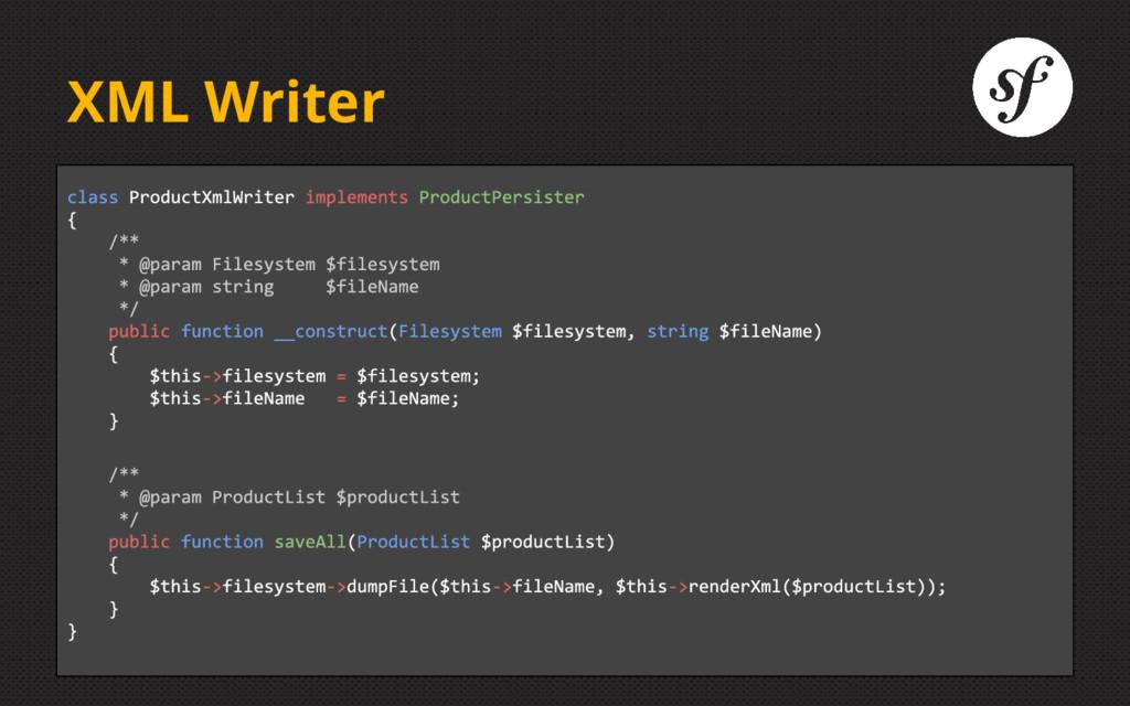 XML Writer
