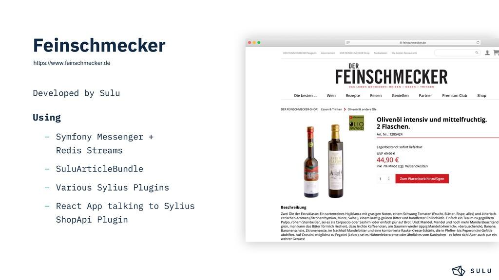Feinschmecker https://www.feinschmecker.de Deve...