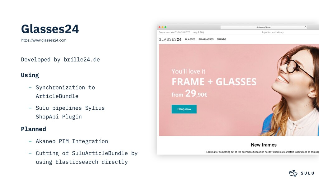 https://www.glasses24.com Developed by brille24...