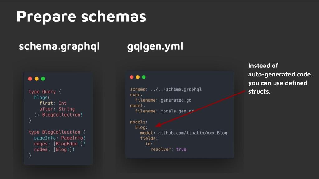 schema.graphql Prepare schemas Instead of auto-...
