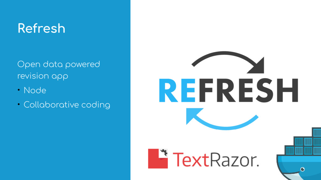 Open data powered revision app • Node • Collabo...