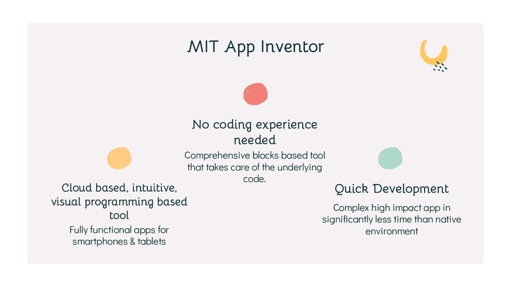 Quick Development No coding experience needed C...