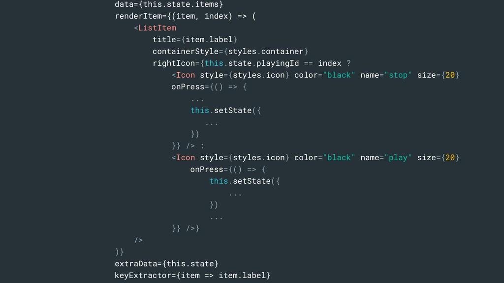 data={this.state.items} renderItem={(item, inde...