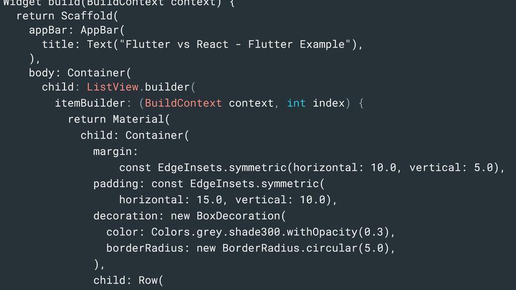 Widget build(BuildContext context) { return Sca...