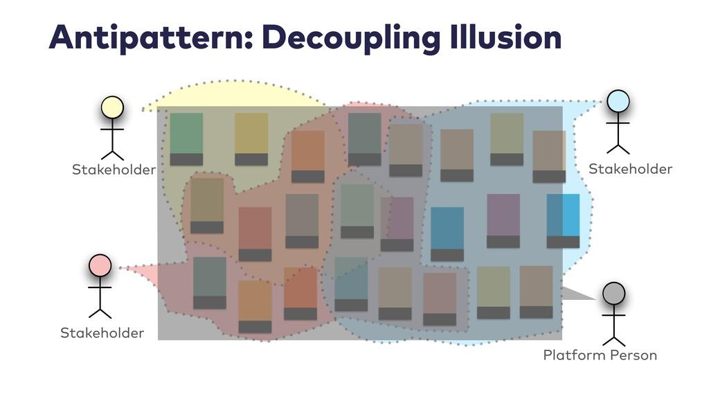 Antipattern: Decoupling Illusion Stakeholder St...