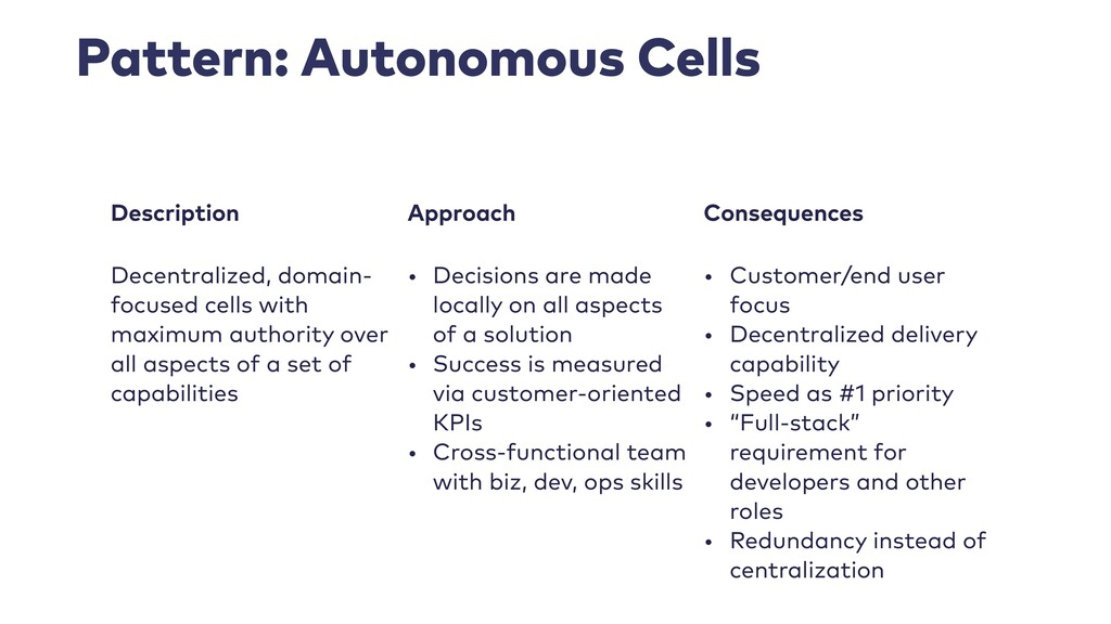 Pattern: Autonomous Cells Description Approach ...