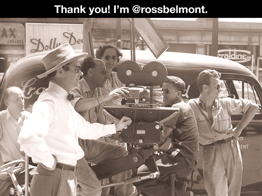 @rossbelmont Thank you! I'm @rossbelmont.