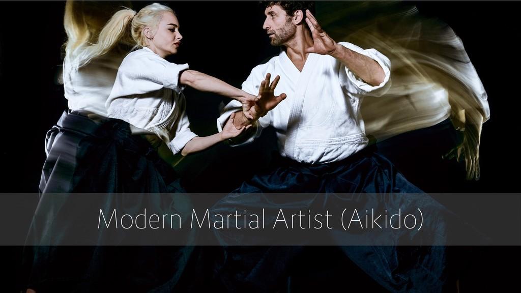 Modern Martial Artist (Aikido)