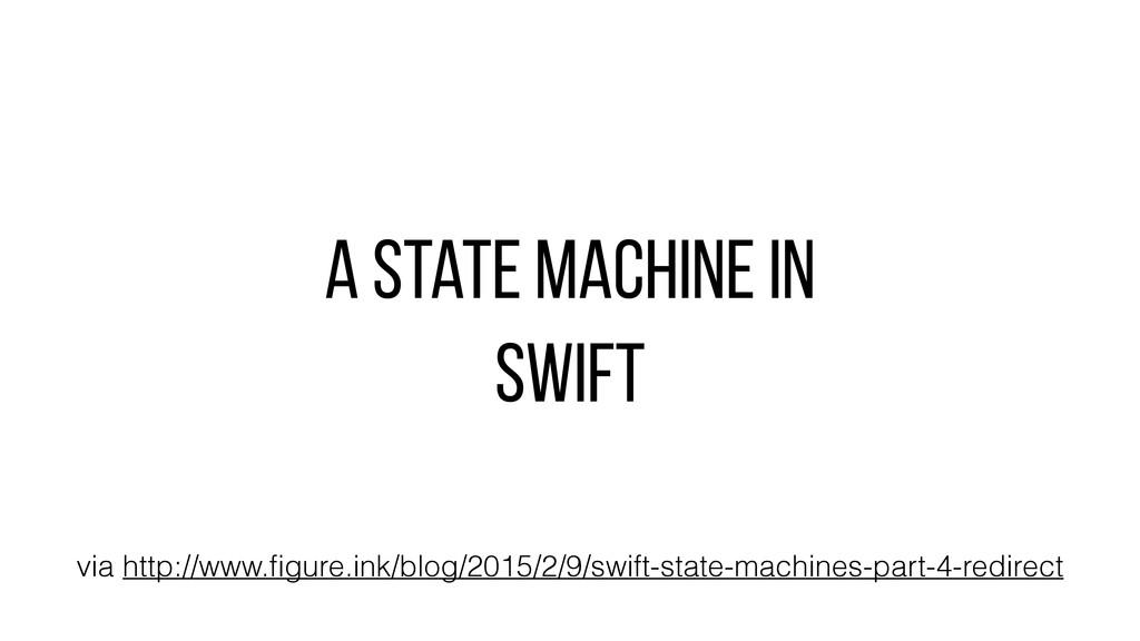 A state machine in swift via http://www.figure.i...