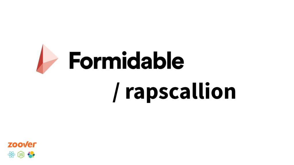 / rapscallion