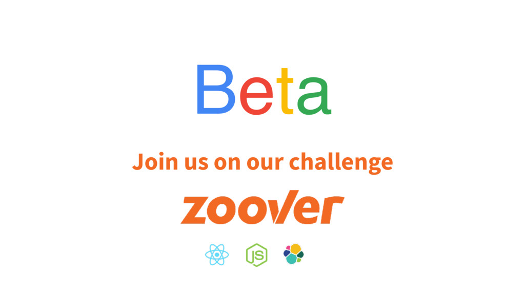 Beta Join us on our challenge