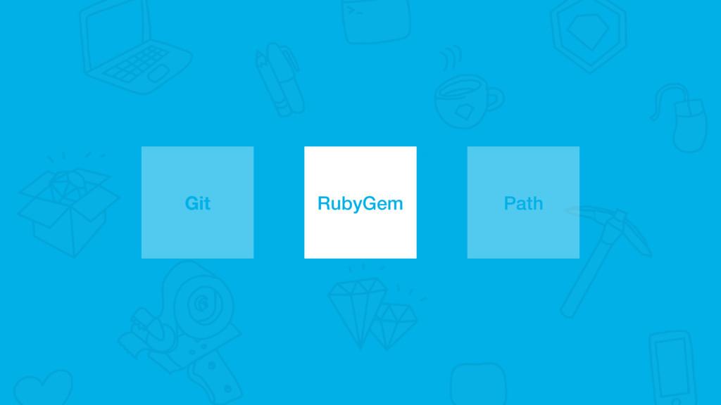 Git RubyGem Path