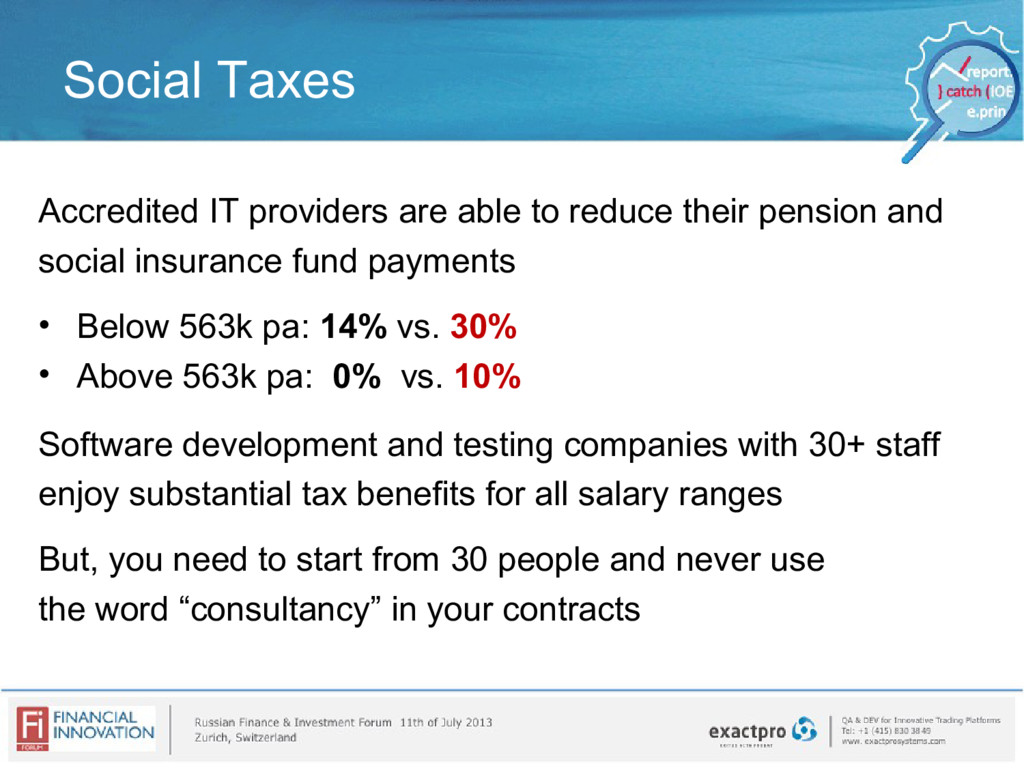 Social Taxes Accredited IT providers are able t...