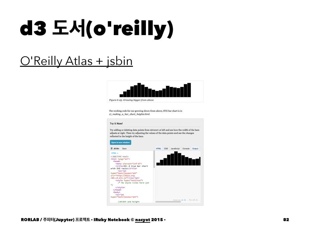 d3 بࢲ(o'reilly) O'Reilly Atlas + jsbin RORLAB /...