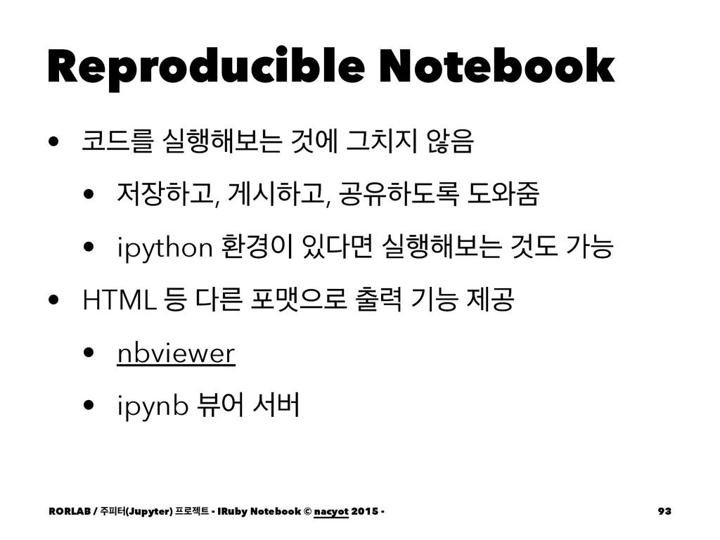 Reproducible Notebook • ٘ܳ प೯೧ࠁח Ѫী Ӓ ঋ • ...