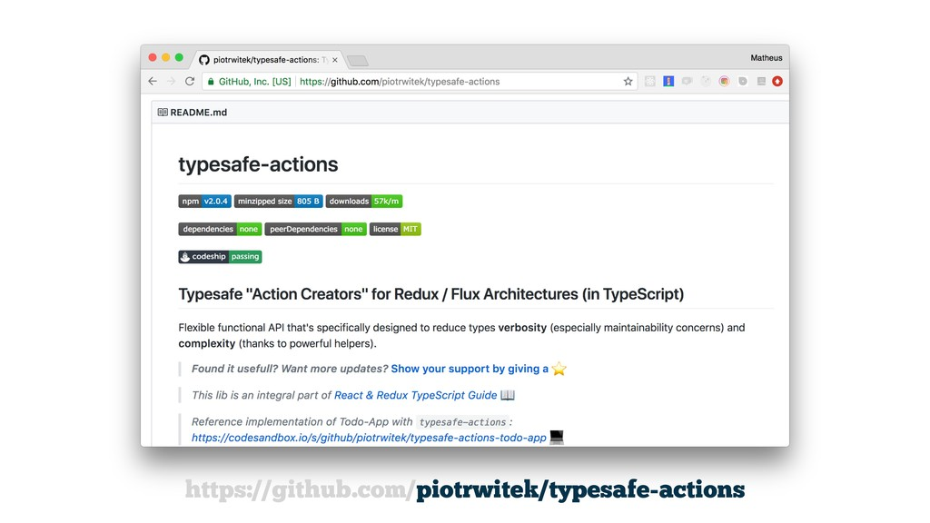 https://github.com/piotrwitek/typesafe-actions
