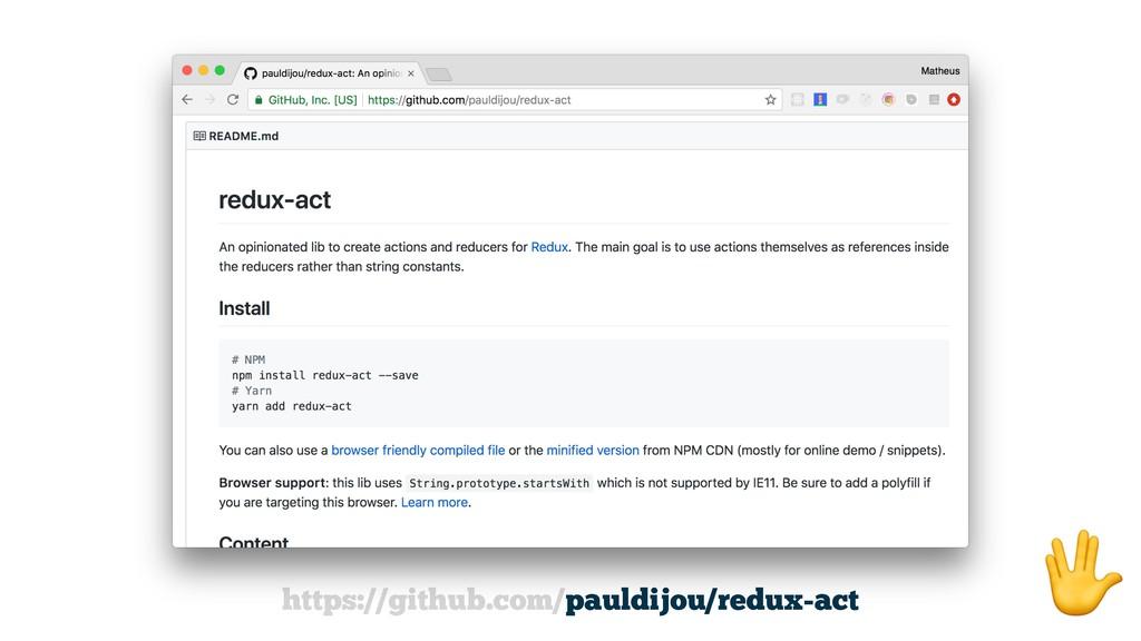 https://github.com/pauldijou/redux-act