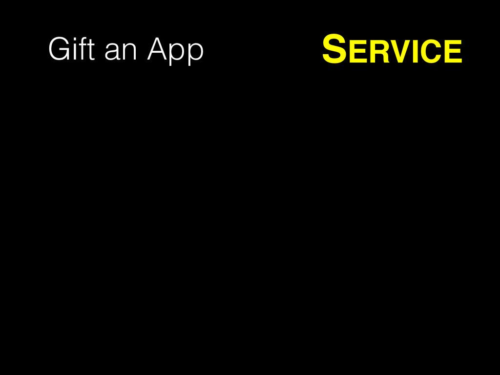 Gift an App SERVICE
