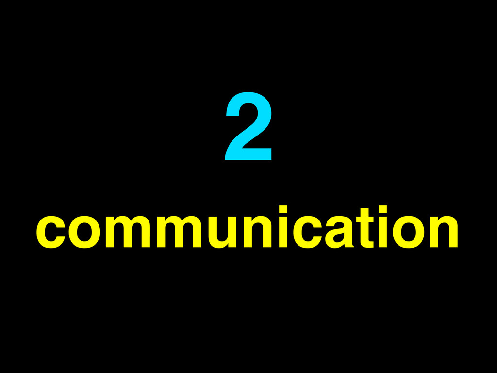 communication 2