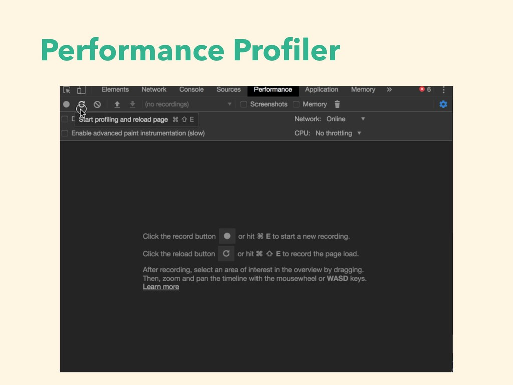 Performance Profiler