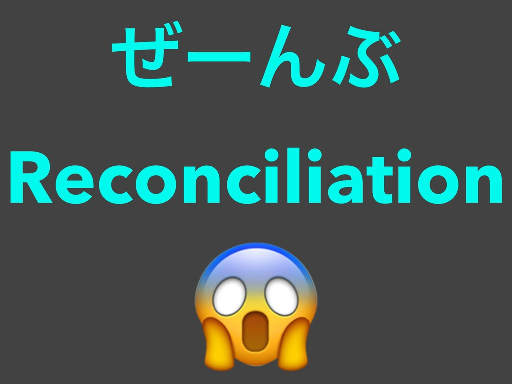 ໌Β͔ʹͳΔϘτϧωοΫ ͥʔΜͿ Reconciliation