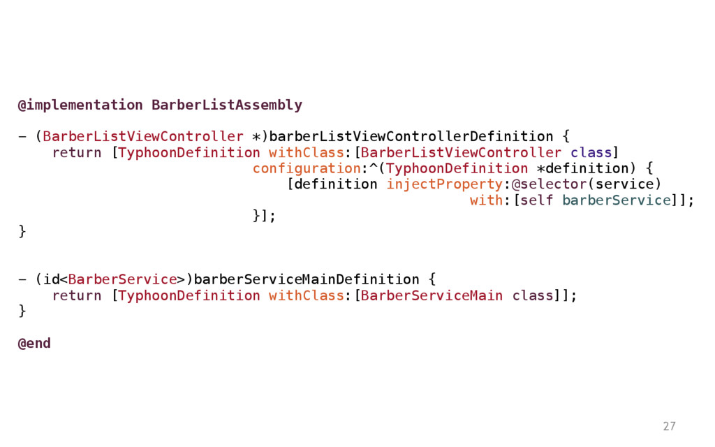 27 @implementation BarberListAssembly - (Barber...