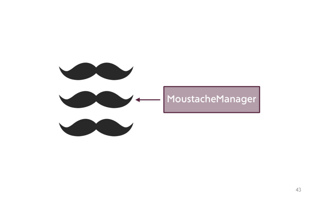43 MoustacheManager