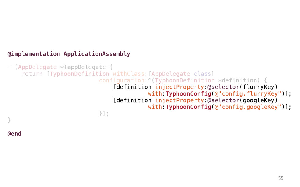 55 @implementation ApplicationAssembly - (AppDe...