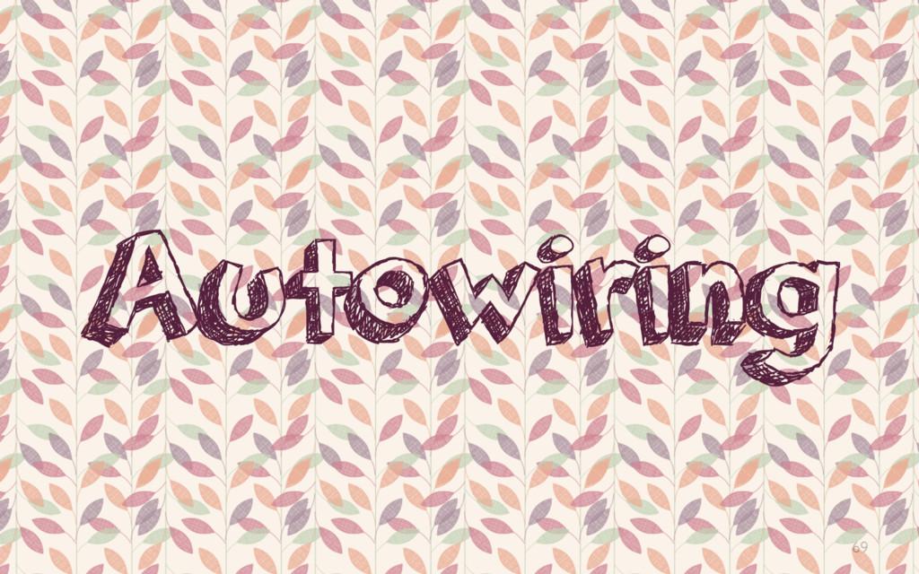 69 Autowiring