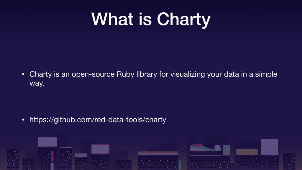 What is Charty • Charty is an open-source Ruby ...