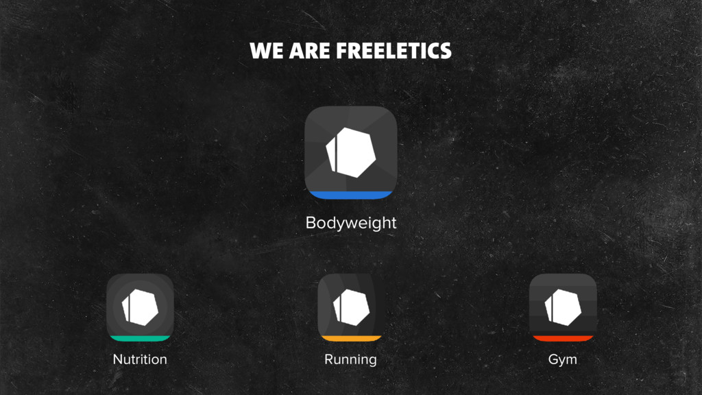 Bodyweight Nutrition Running Gym WE ARE FREELET...