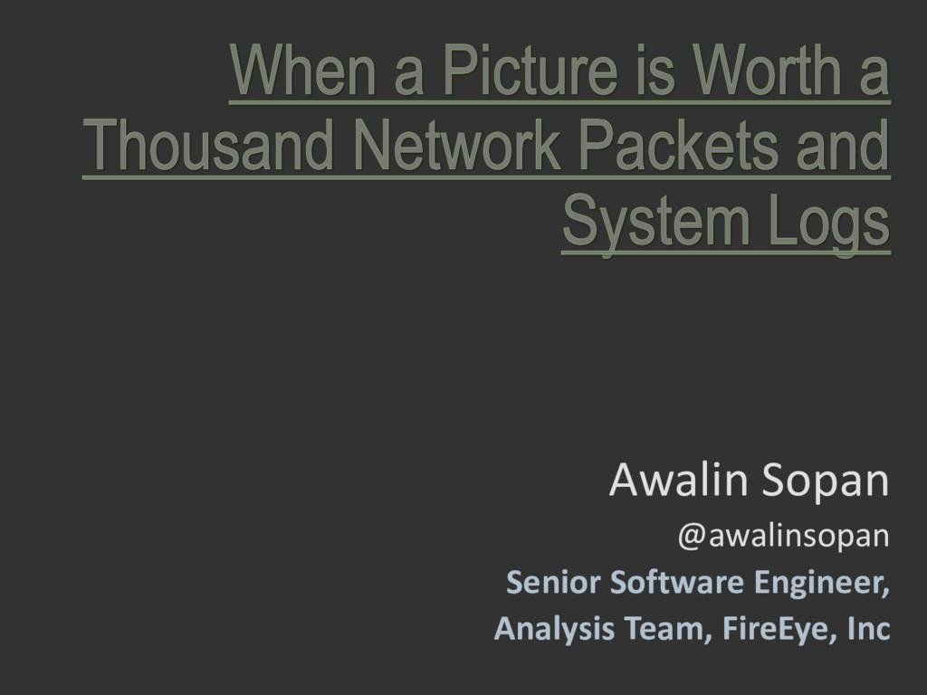 Awalin Sopan @awalinsopan Senior Software Engin...