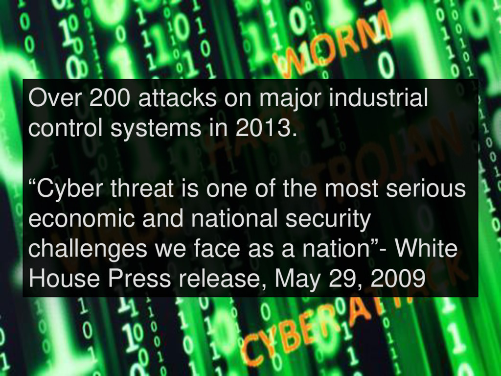 Over 200 attacks on major industrial control sy...