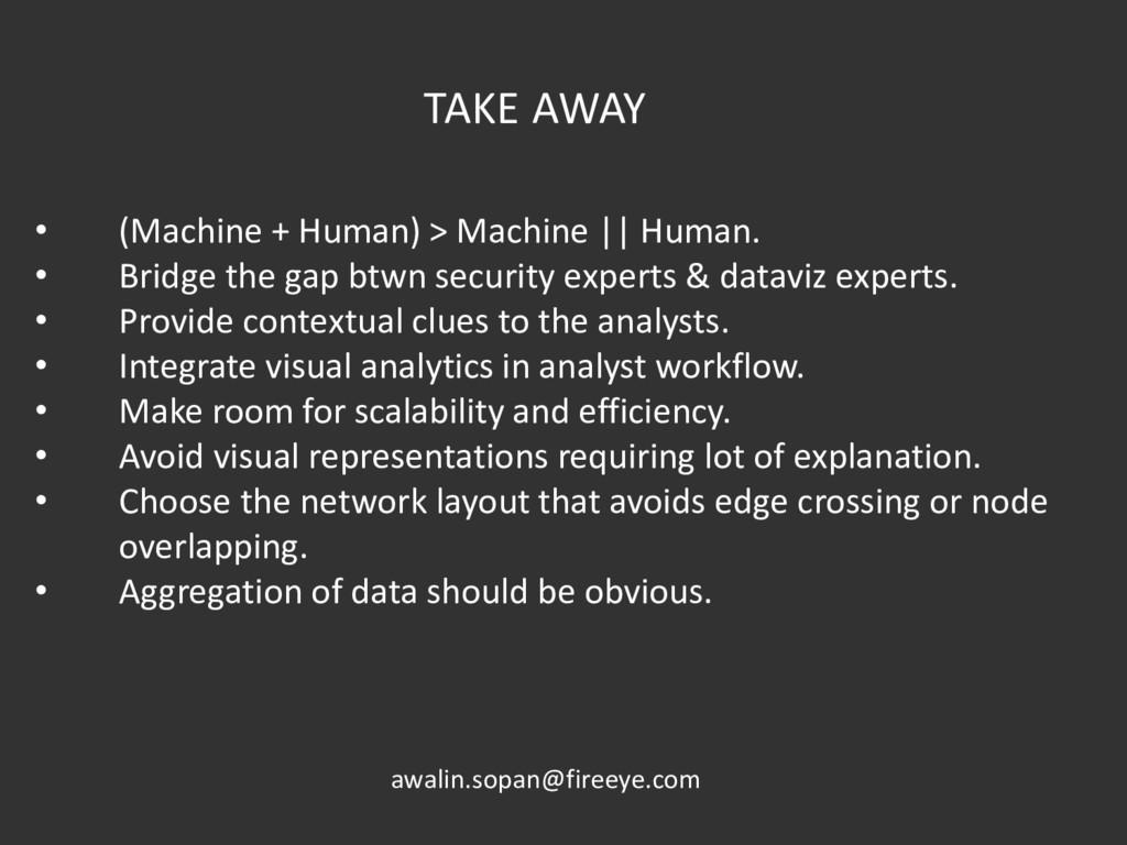 • (Machine + Human) > Machine || Human. • Bridg...