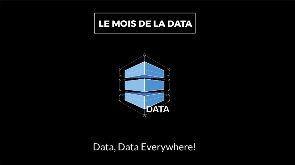 Data, Data Everywhere!