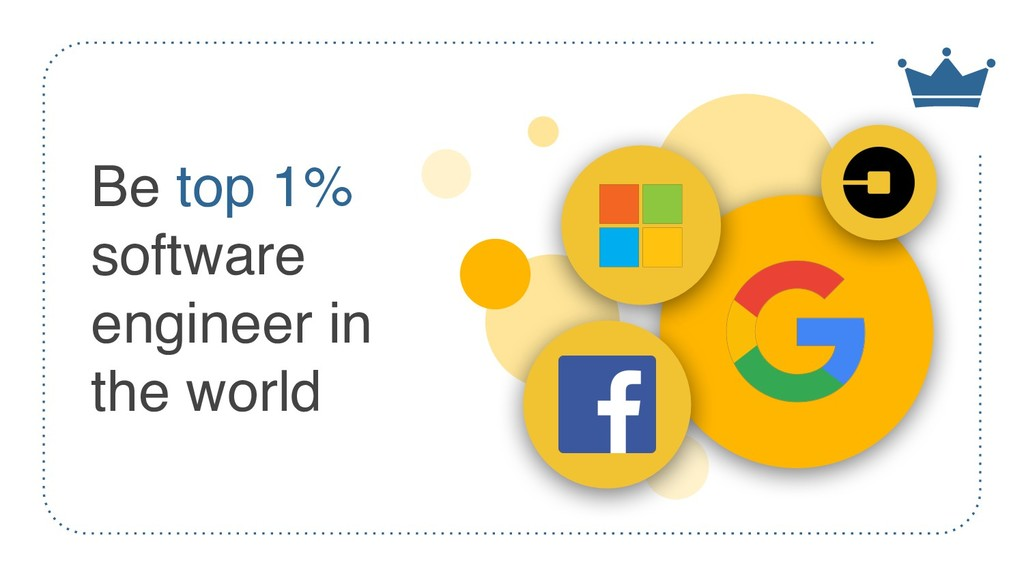 Be top 1% software engineer in the world