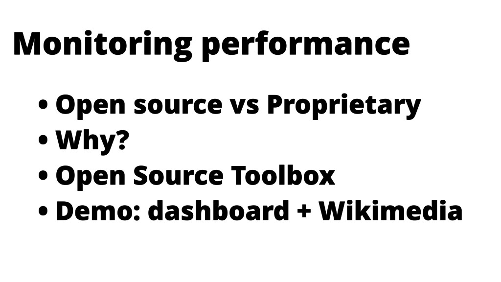 • Open source vs Proprietary • Why? • Open Sour...