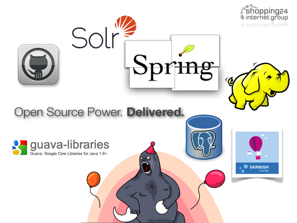 Open Source Power. Delivered.