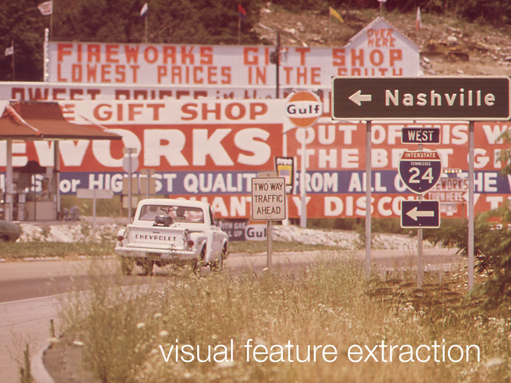 visual feature extraction