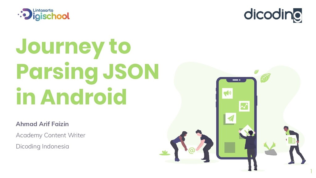Journey to Parsing JSON in Android Ahmad Arif F...
