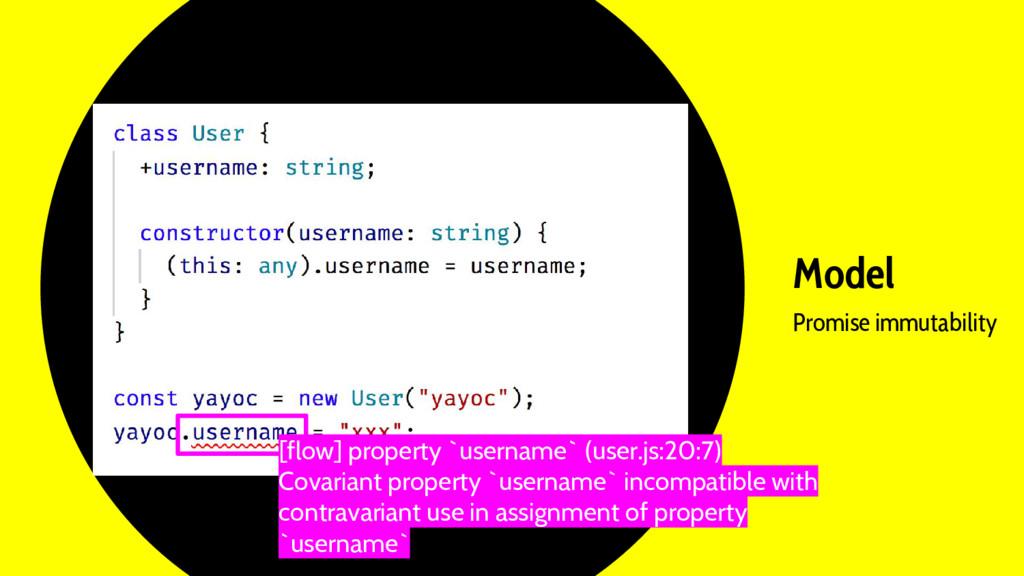 Model Promise immutability [flow] property `use...