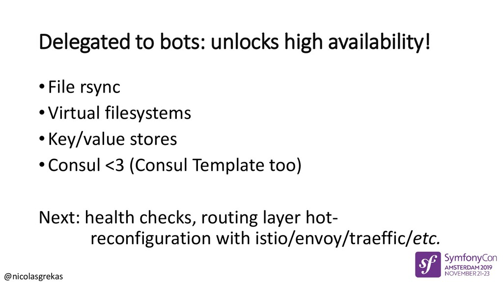 @nicolasgrekas Delegated to bots: unlocks high ...